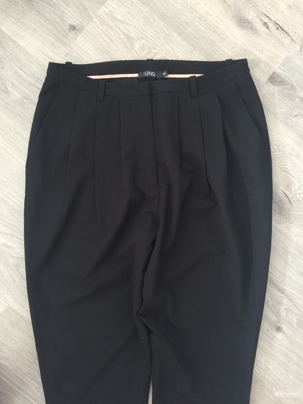 Черные брюки фирмы UNQ размер 44-46