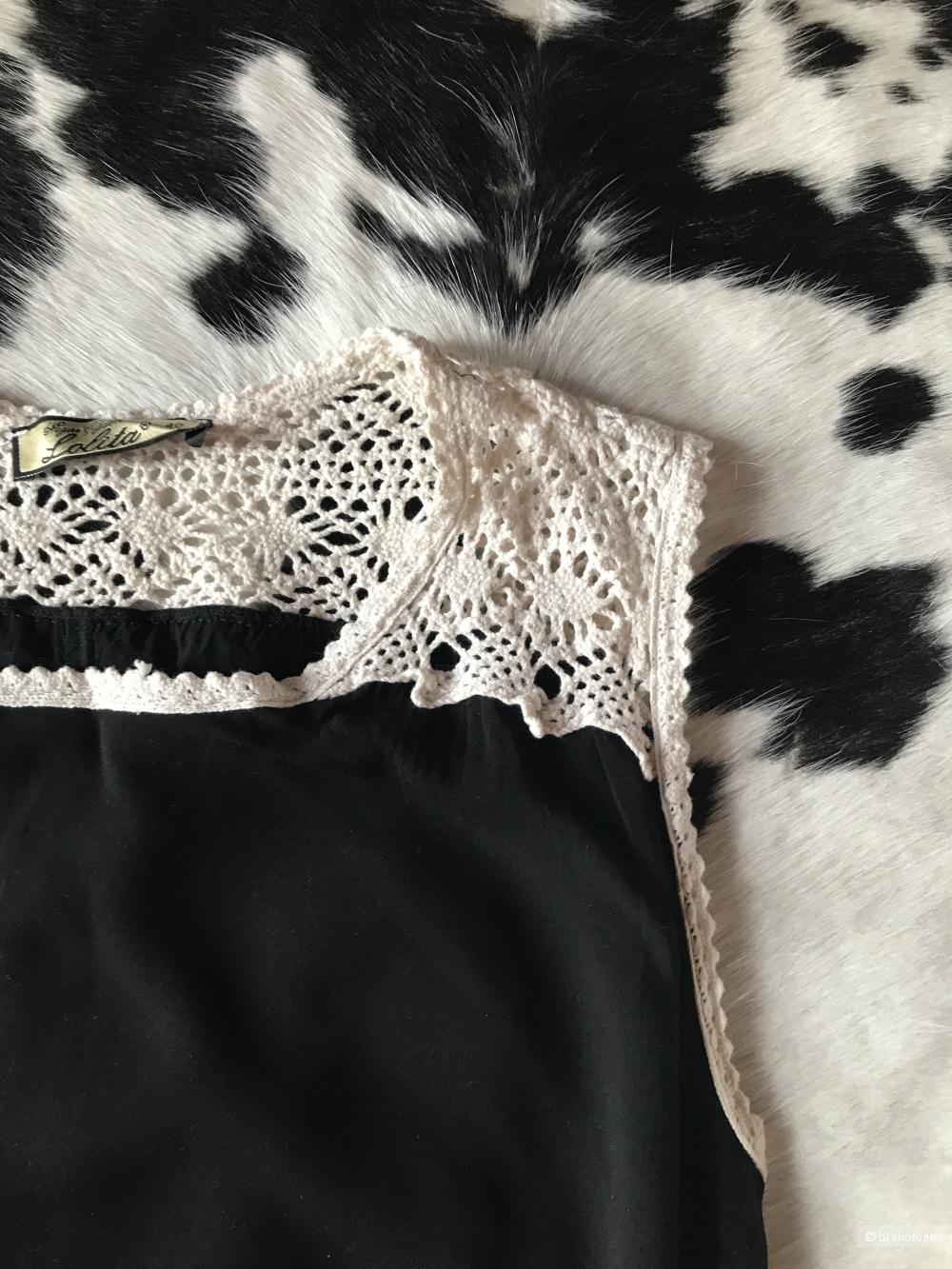 Платье чёрное р.44-46