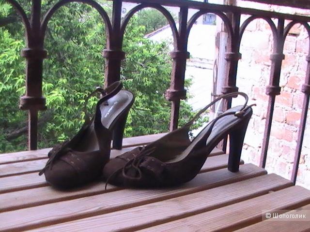 Новые туфли  NAZARENO GIANI 38- 39