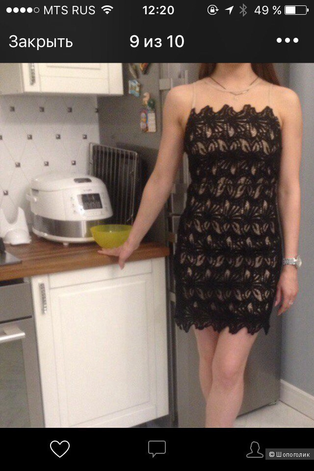Мини платье J.O.A американский бренд.