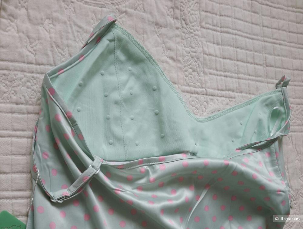 Ночная сорочка нежной расцветки р.S, новая