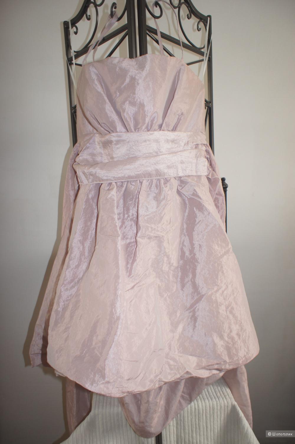 Праздничное платье в стиле стиляг  размер 48-50