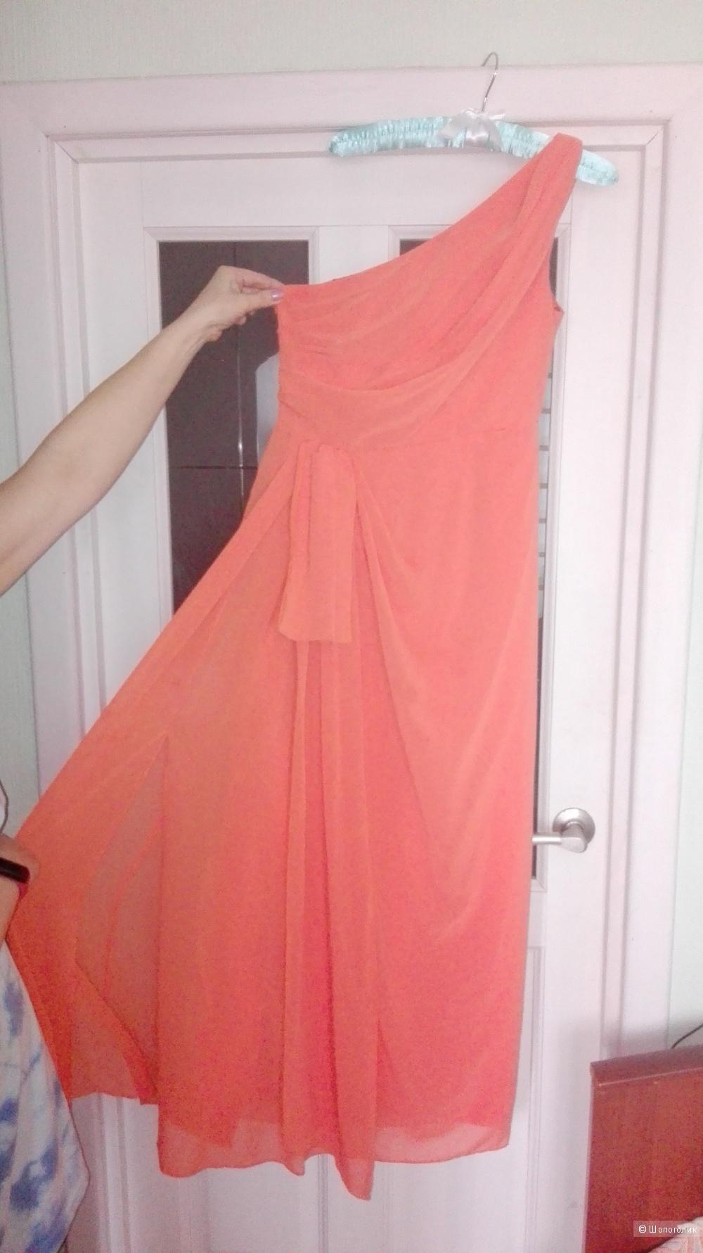 Платье Alberta Ferretti 10US шёлк