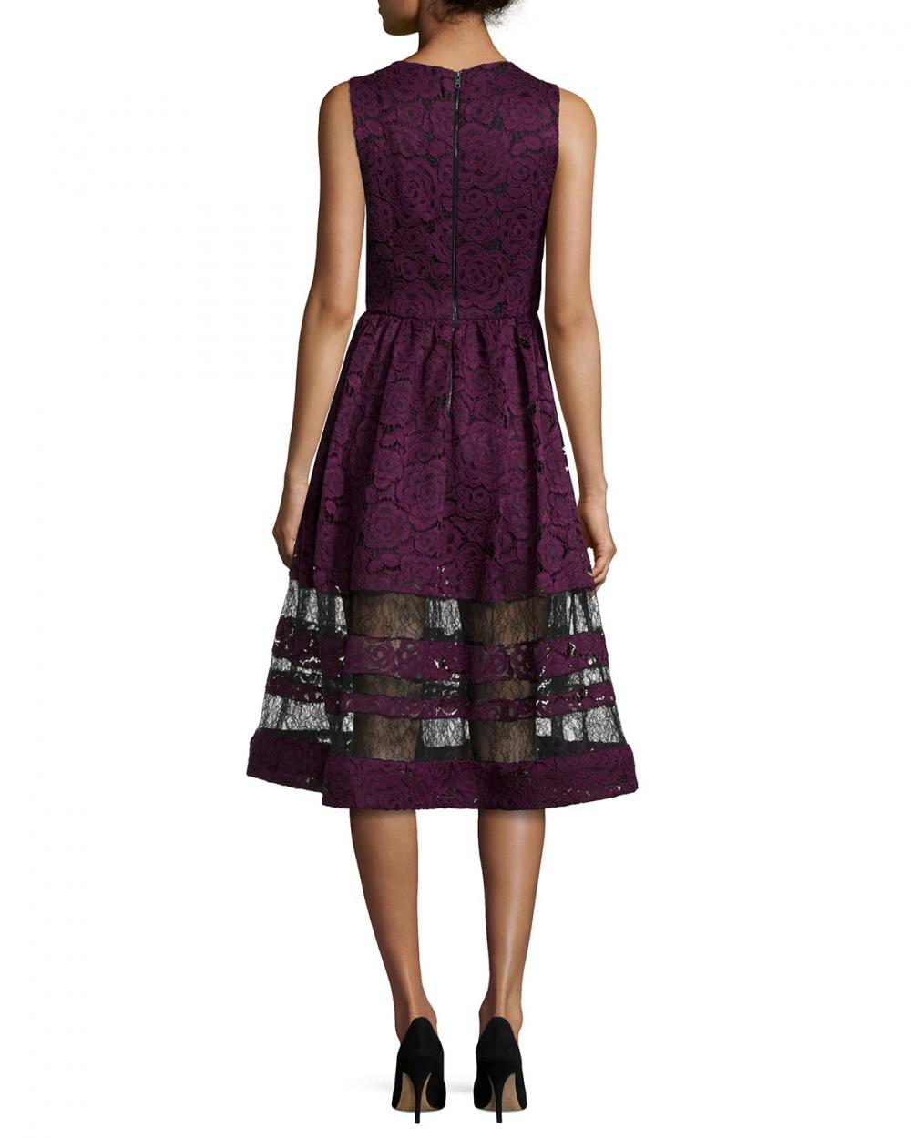 Роскошное коктейльное платье Alice+Olivia