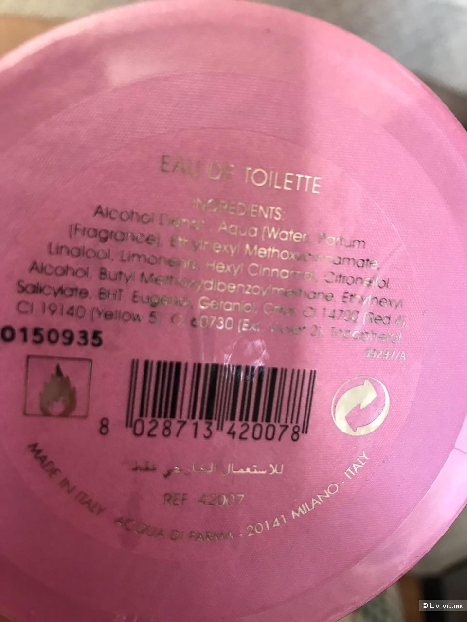Acqua Nobile Rosa Acqua di Parma для женщин 125 мл
