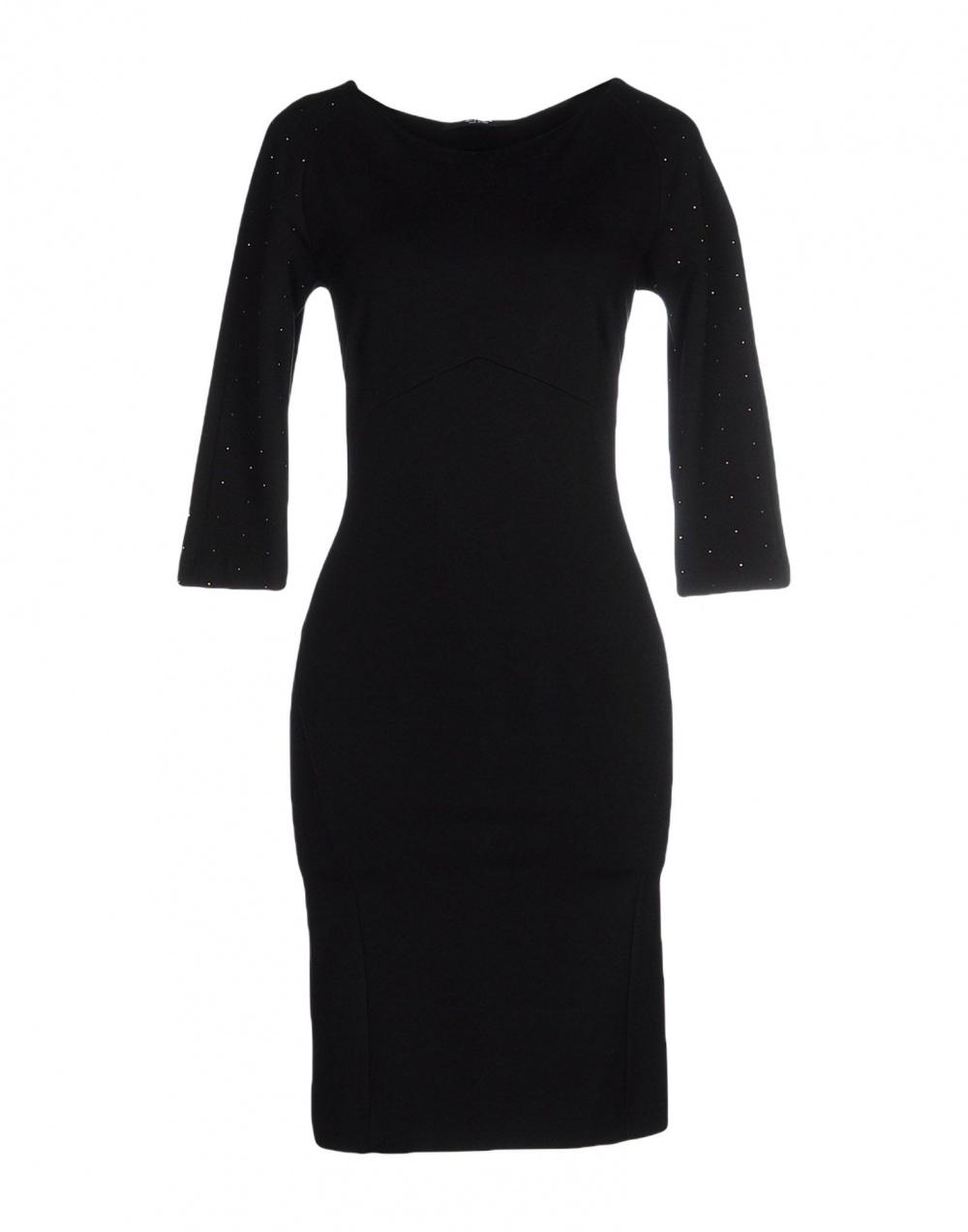 Маленькое черное платье SISTE' S, 48 (Российский размер) дизайнер:46 (IT). Черный