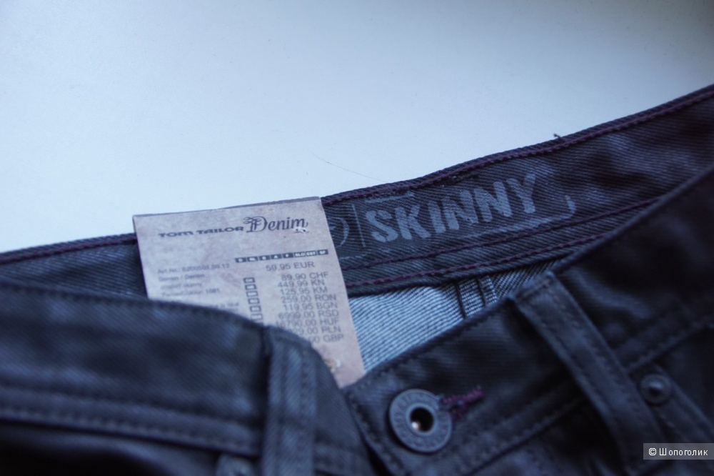 Новые джинсы Tom Tailor 32x34