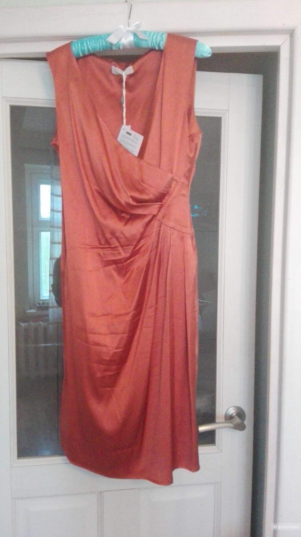 Платье Stefanel 42IT шёлк