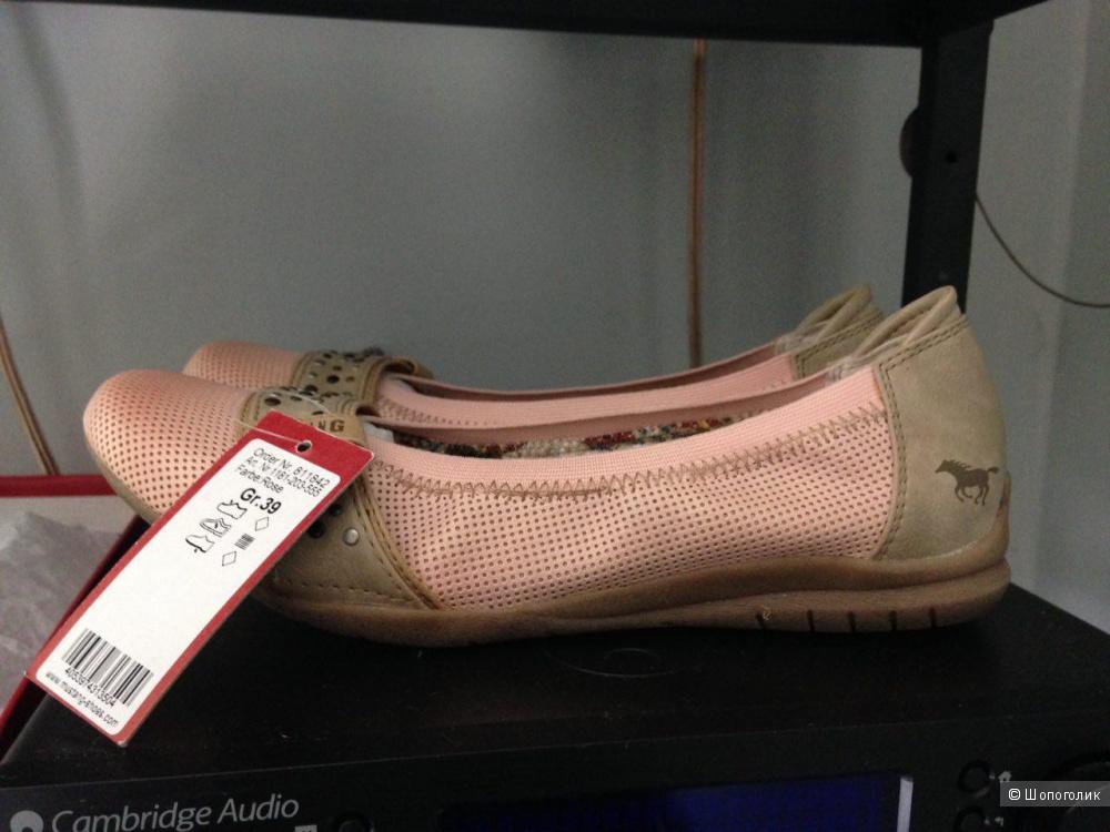 Пристраиваются новые балетки немецкой фирмы MUSTANG SHOES