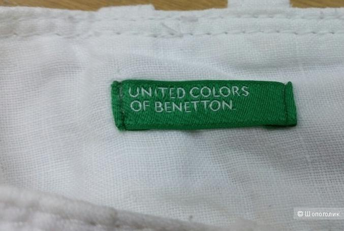 Брюки Benetton 100% лен - 40 it (42 русс)