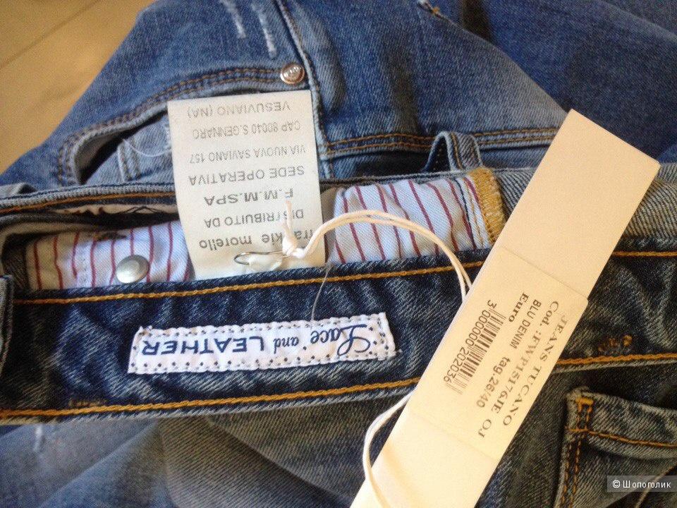 Джинсовые брюки FRANKIE MORELLO 26 размер.