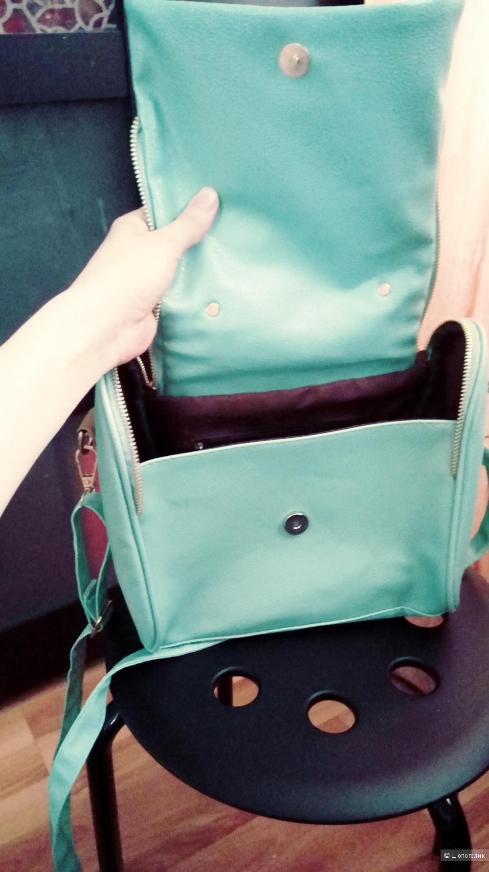 Новая сумочка мятного цвета