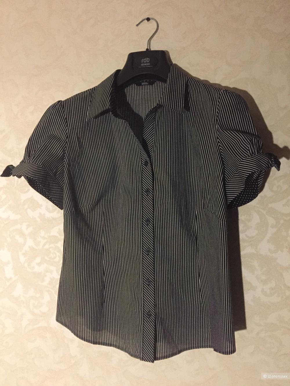 Рубашка с коротким рукавом Marks&Spenser 16uk