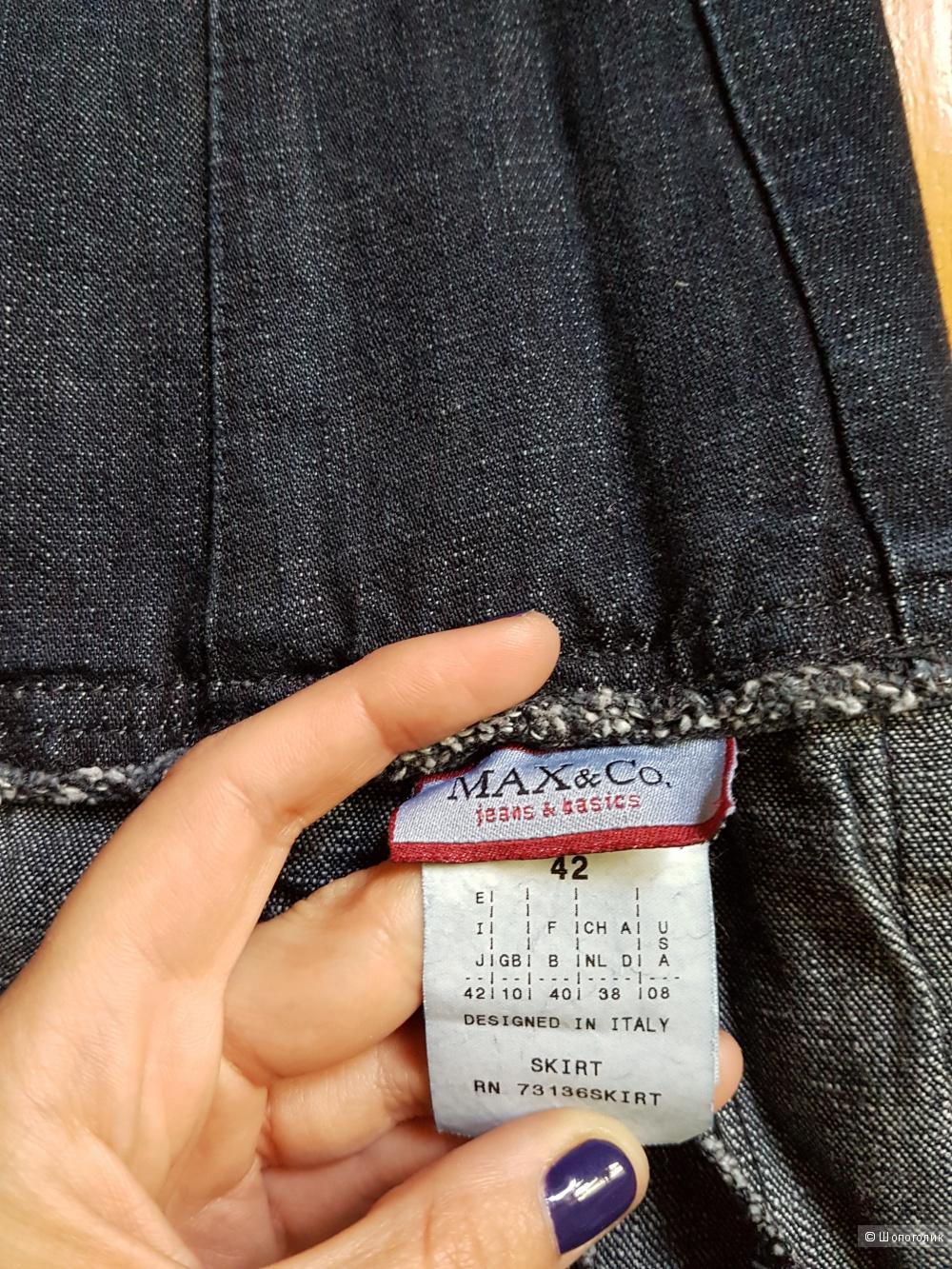 """Джинсовая юбка """" Max&Co"""""""
