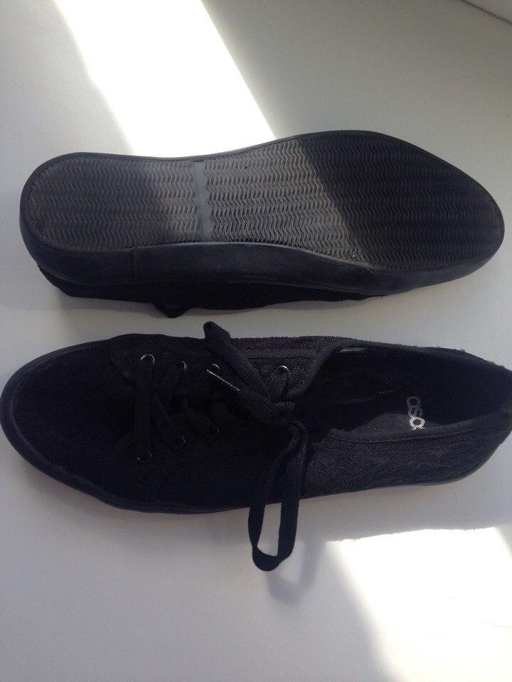 Кружевные кроссовки на шнуровке ASOS DAGNALL