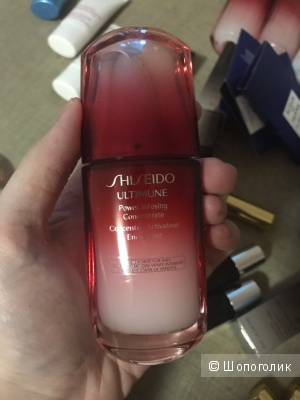 Концентрат Shiseido ULTIMUNE power infusing Concentrate - новый 50 мл