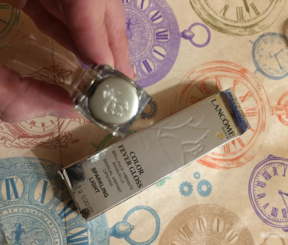 Lancome Color Fever Gloss Блеск для губ 021 Sparkling light