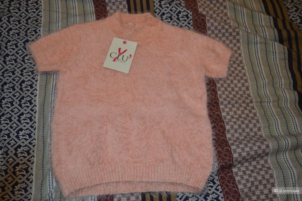 Стильная кофточка итальянского бренда Y,clu на девочку 6-7 лет