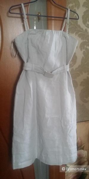 Платье-сарафан натуральный лен MEXX 46-48 размер
