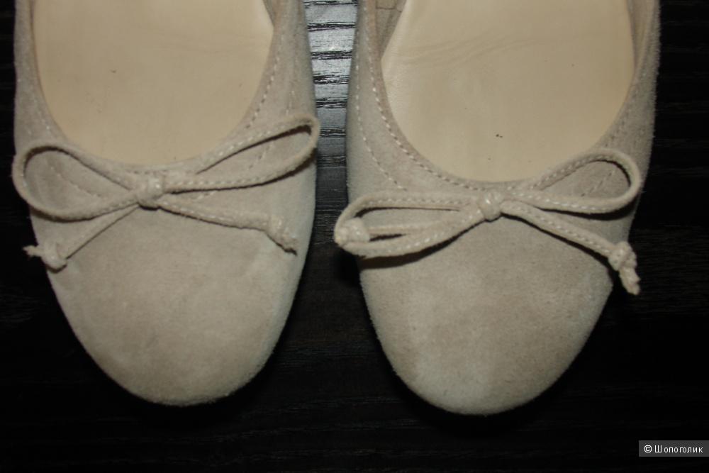 Замшевые балетки hogl 40 размера