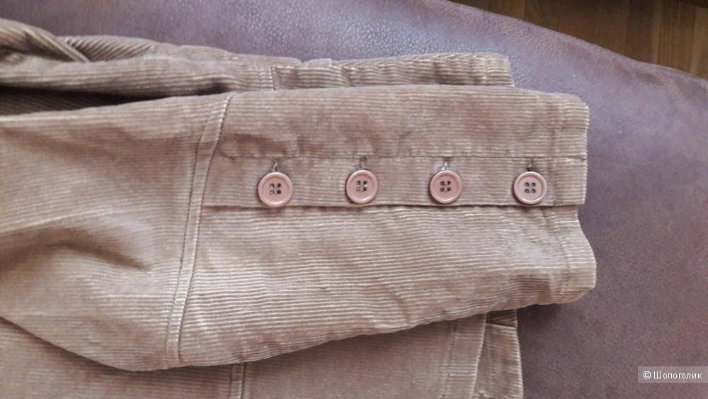 Вельветовый пиджак куртка  Essentiel 38 размера (46)