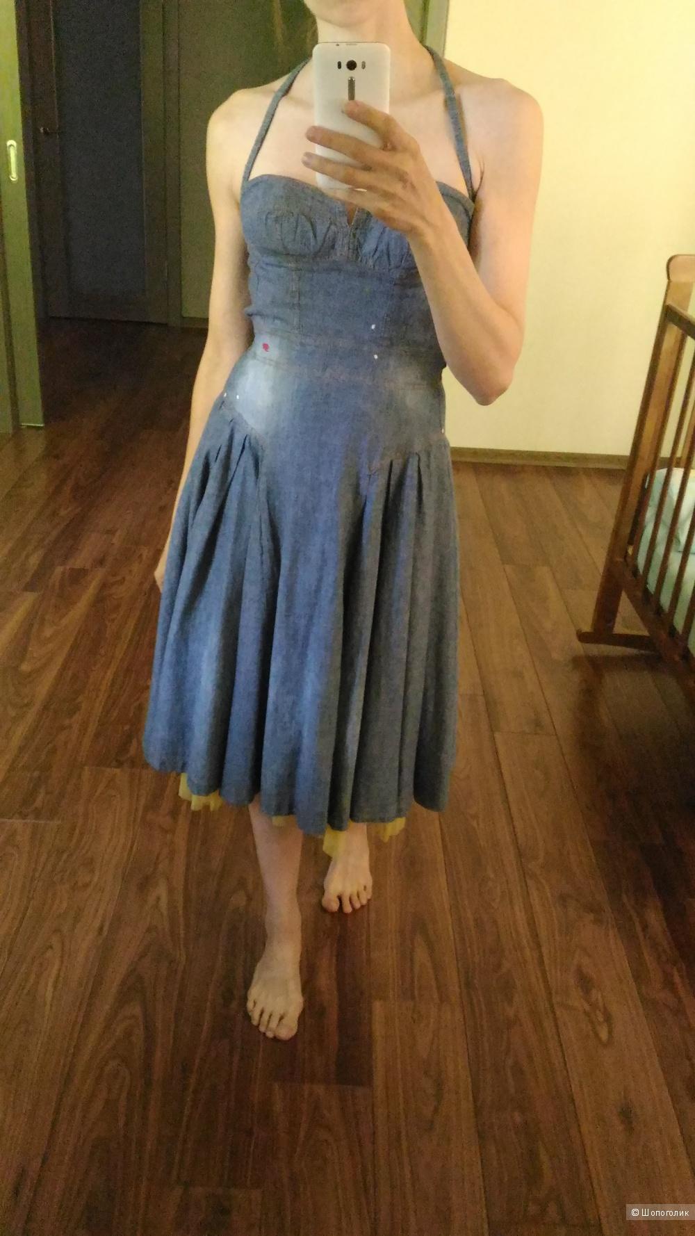 Платье, сарафан DSQUARED, Italy, оригинал, размер 40-42
