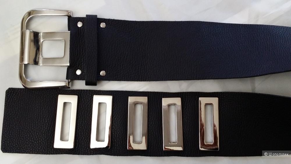 Крутой кожаный ремень APART (производство Италия)