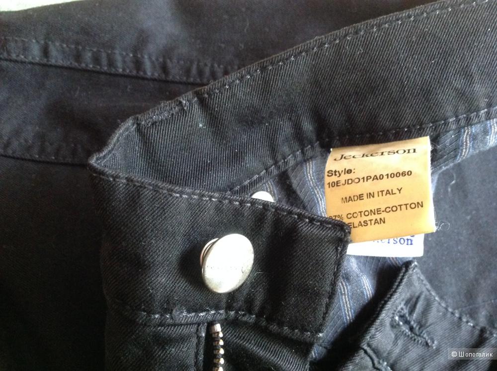 Jeckerson брюки (джинсовые брюки) 30й размер на 46-48, новые