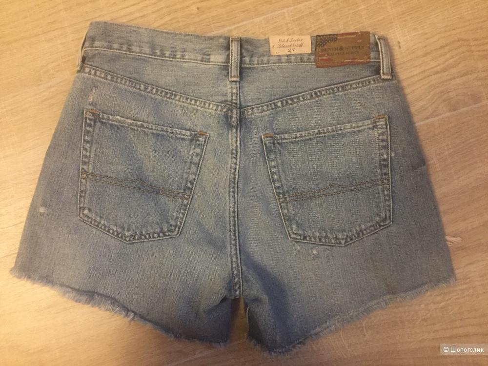 Новые шорты Ralph Lauren размер 27.