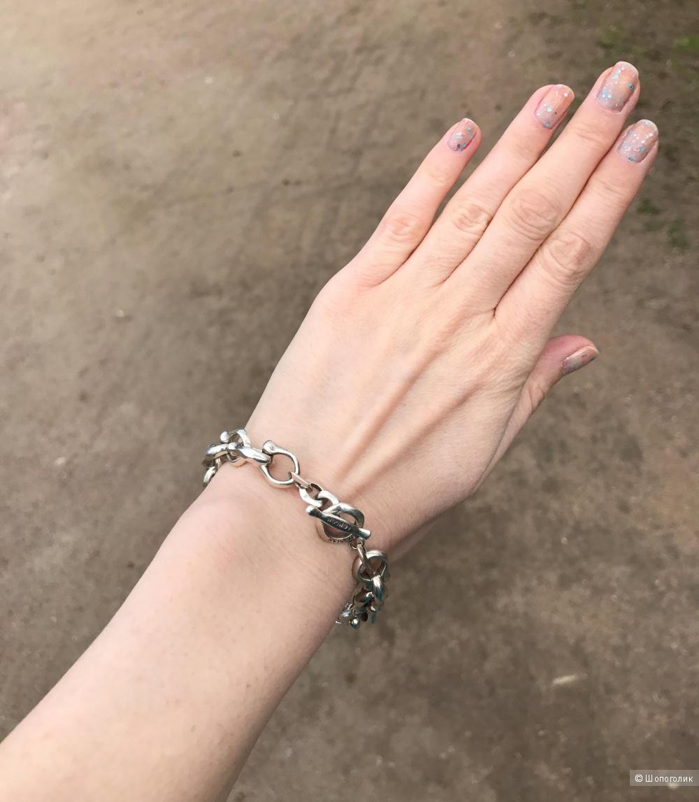 Серебряный браслет Tateossian London