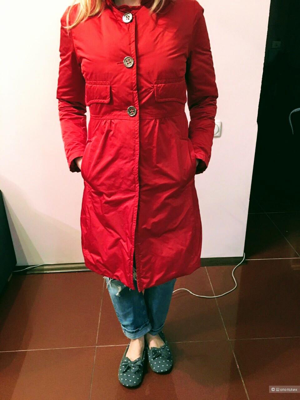Пальто или легкий пуховик ADD Италия размер 42