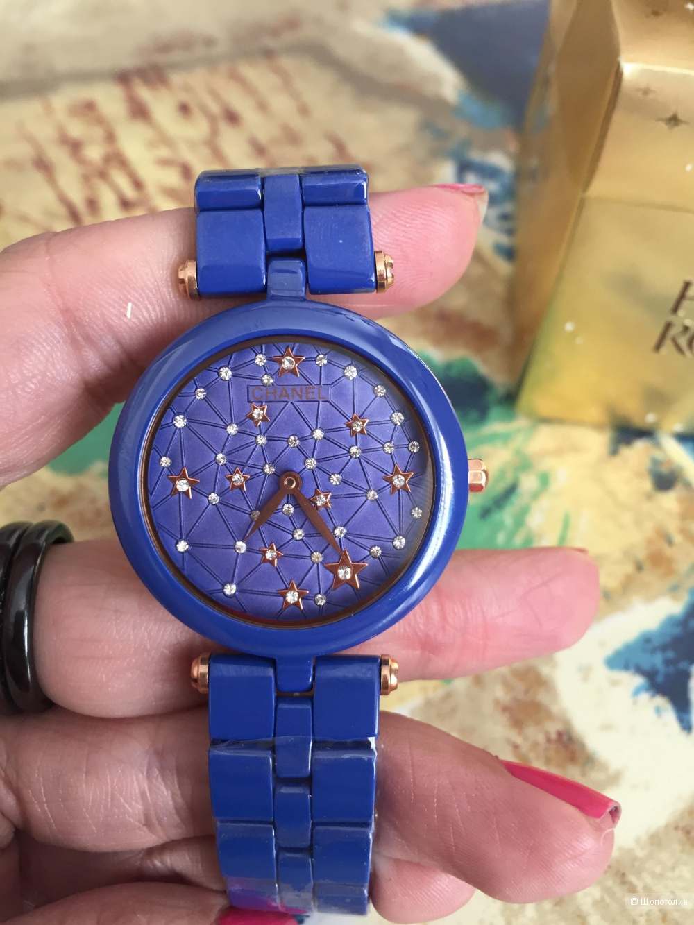 Часы керамика Chanel 32 мл новые