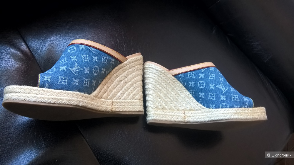 Сабо Louis Vuitton оригинал 38-38,5