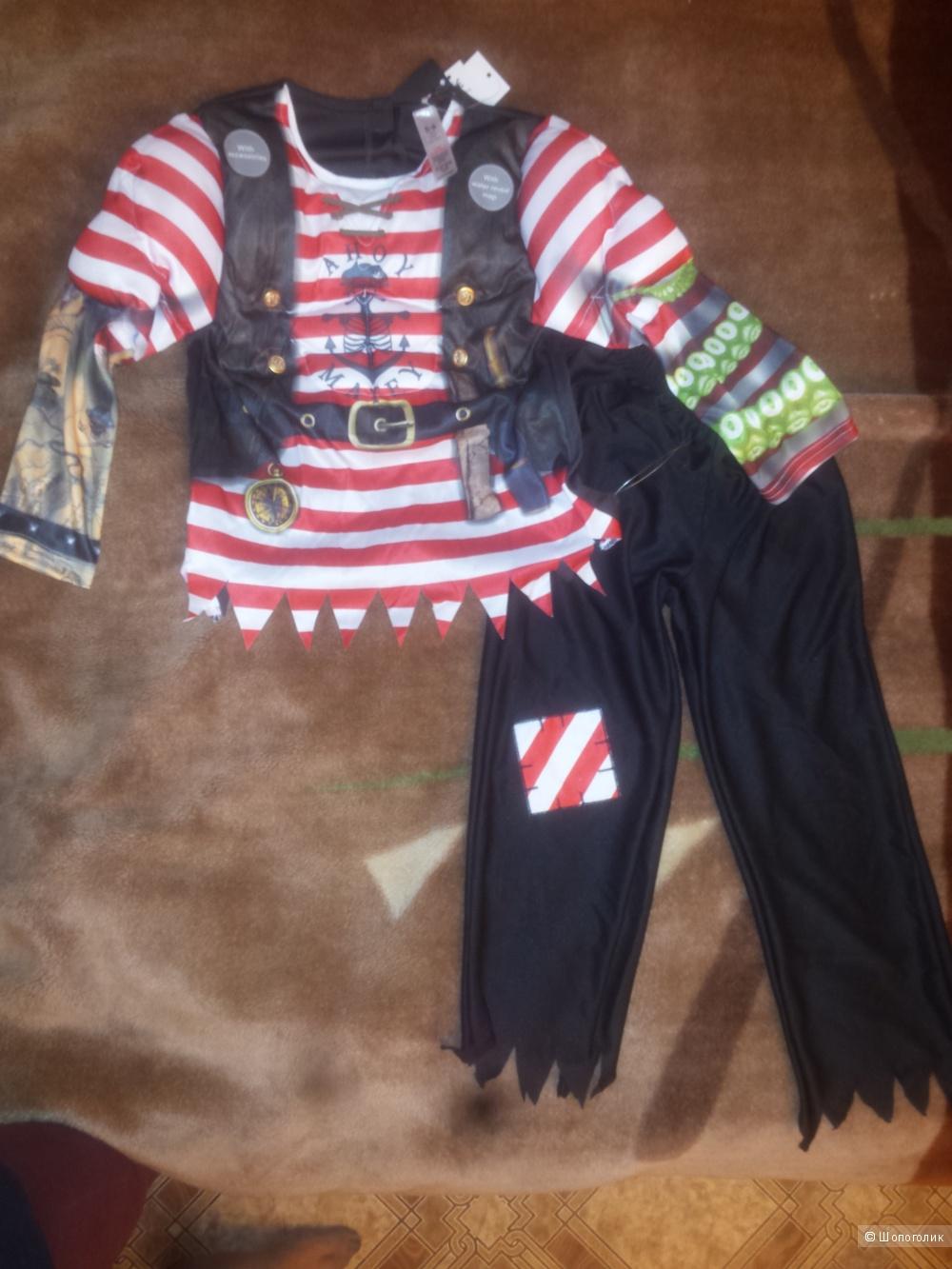 Новый новогодний костюм пирата, на 110-116 см