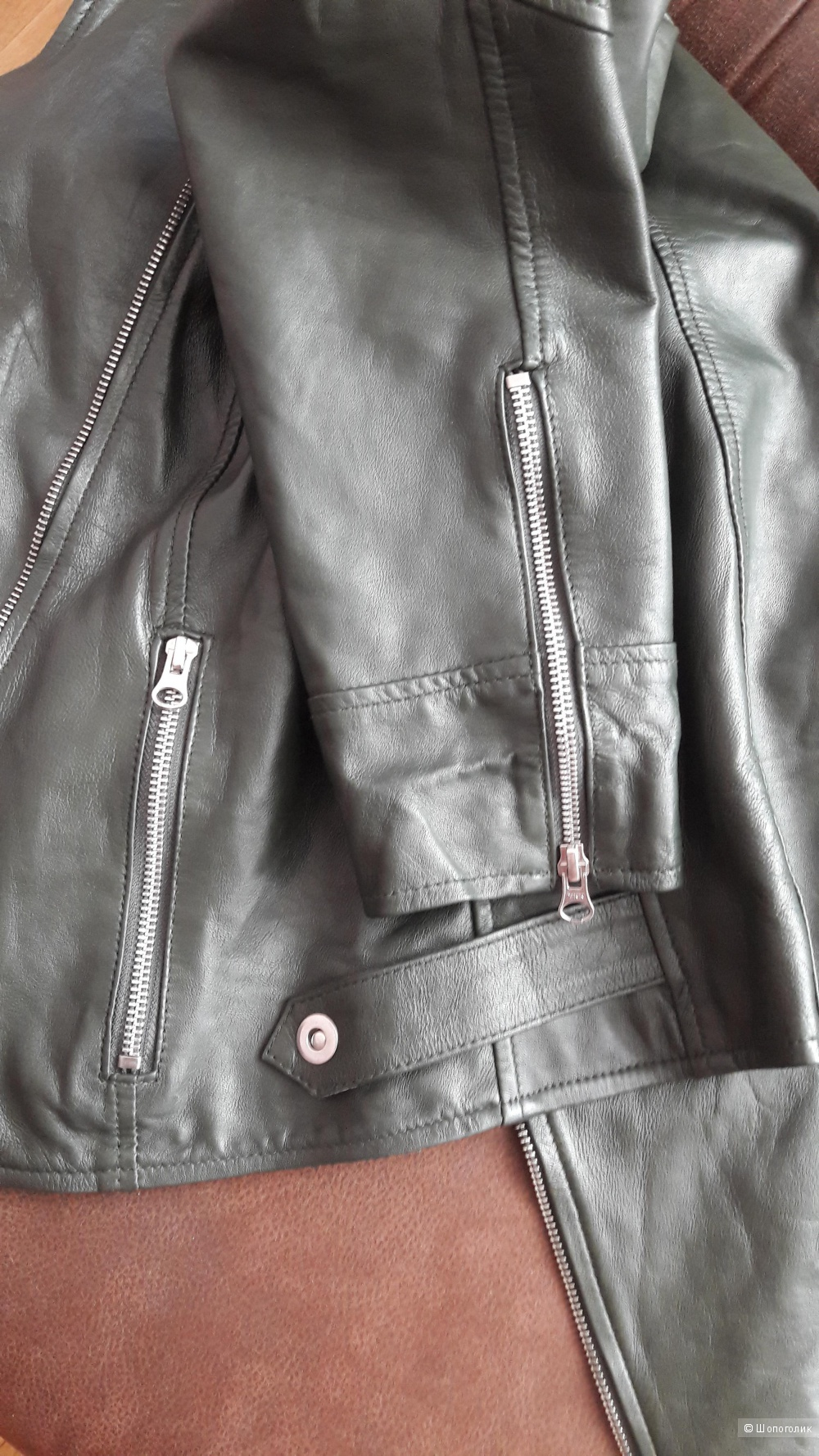 Кожаная куртка 48 размера
