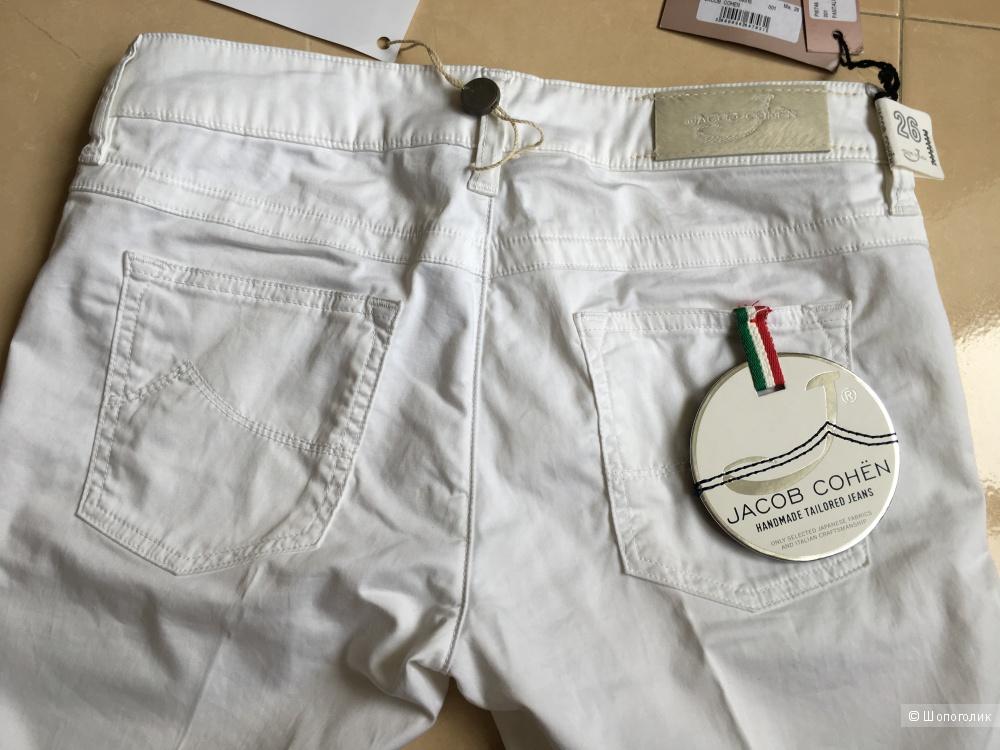 Белые брюки JACOB COHЁN