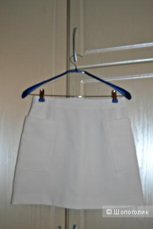 Белая юбка MONKI размер 38 (46 российский)