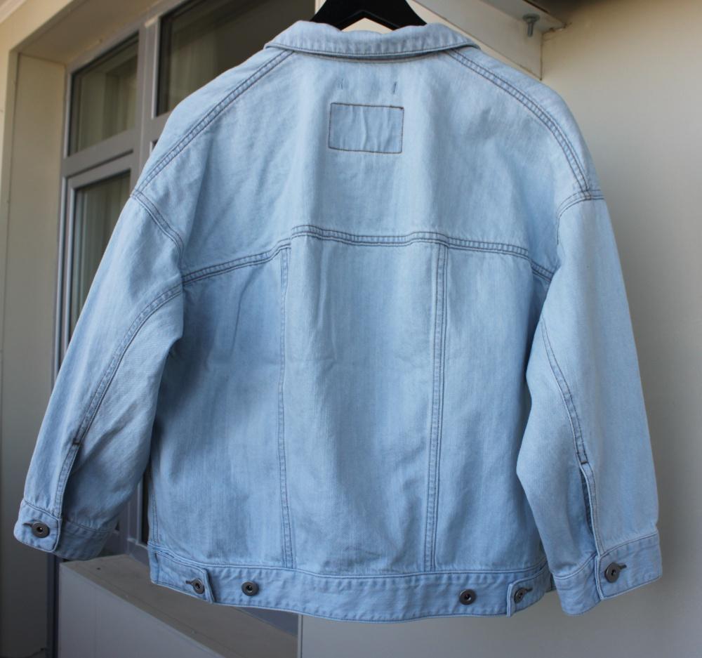 Джинсовая куртка оверсайз, новая, HM