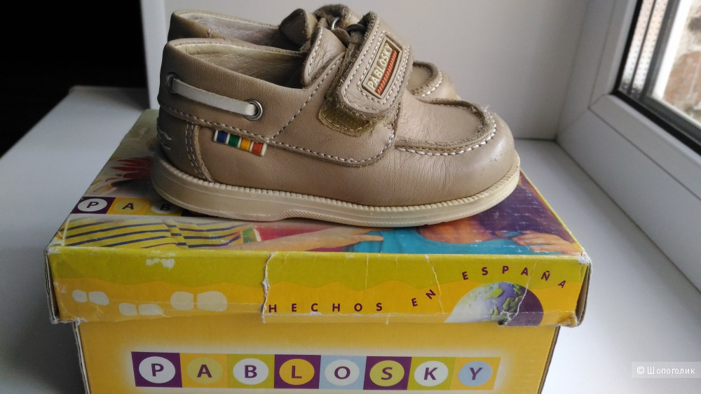 Детские туфли, мокасины, Pablosky, 20 размер