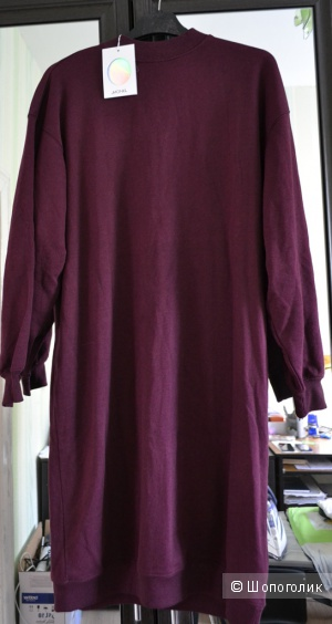 Трикотажное платье Monki - Burgundy / S