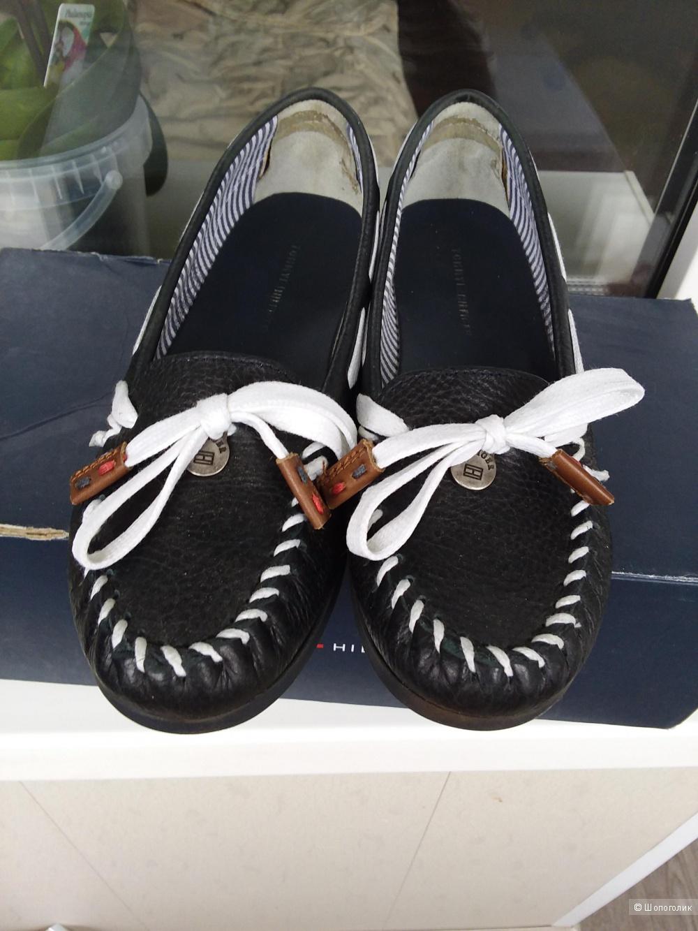 Туфли Tommy Hilfiger  37.5 размер б/у