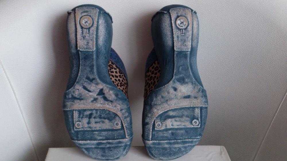 Сабо ELCHE collection с оригинальной танкеткой под джинсу, размер 38, Европа