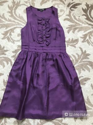 Шёлковое платье Forever21, размер S