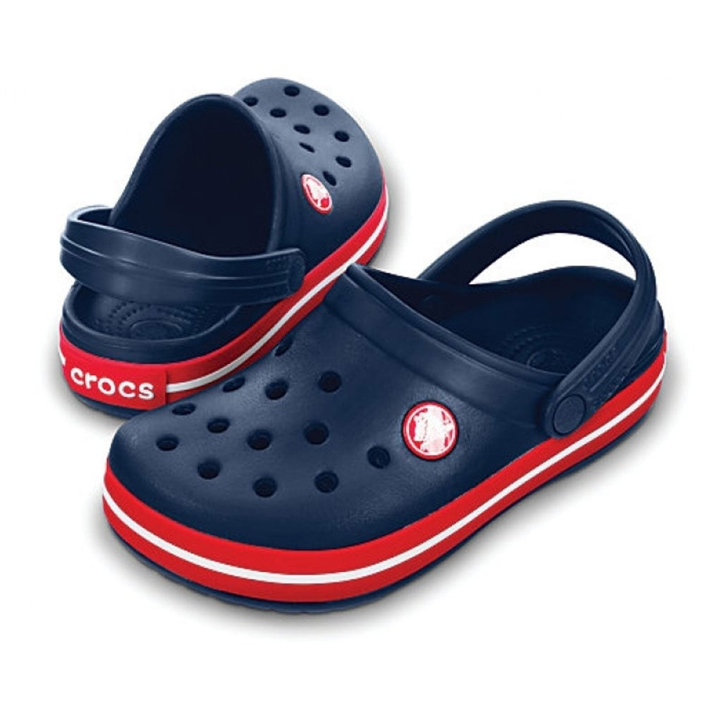 Сабо Crocs Crocband™ Navy/Red новые 37-38