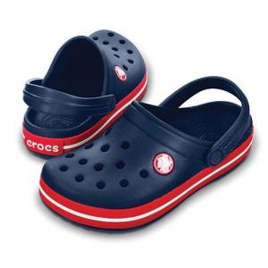 Сабо Crocs Crocband™ Navy/Red новые 37-38
