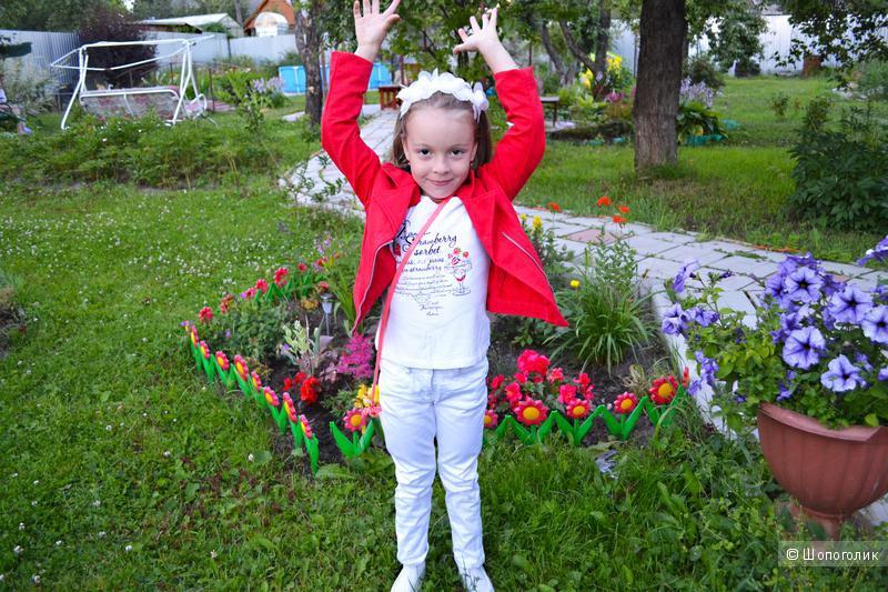 Пакетом знаменитые клубники от Gulliver для девочки 5-6 лет