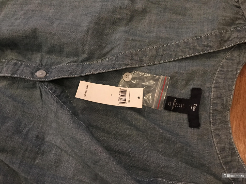 Платье из тонкого джинса GAP FACTORY, размер L