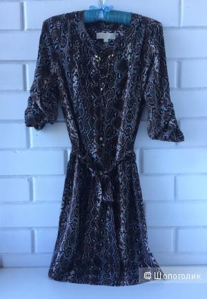 Летнее платье MICHAEL Michael Kors змеиный принт