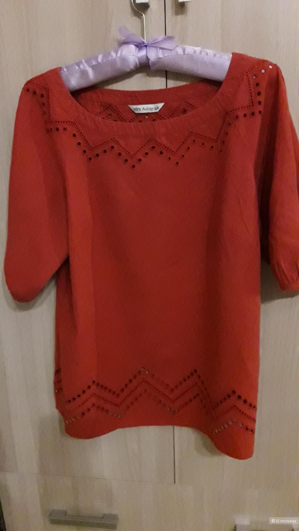 Льняная блузка Marks&Spenser размер 42-44