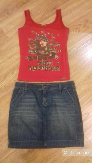 Джинсовая юбка Old Navy, размер 8